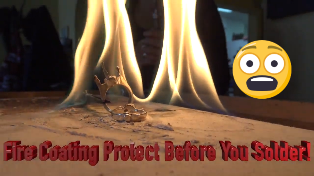 How to make boric acid fire coating for soldering jewelry