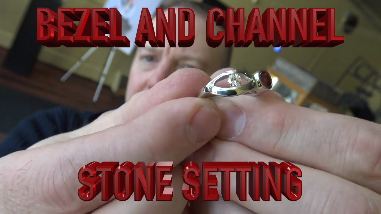 bezel and channel setting gemstones